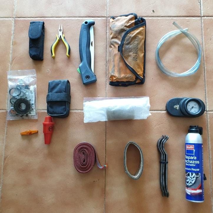 Kit herramientas Enduro