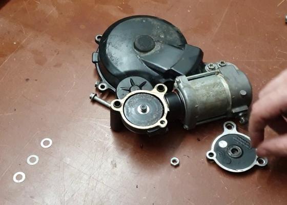 Sistema arranque eléctrico KTM